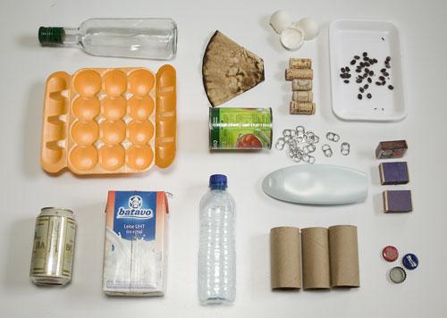 O que podemos reciclar de dentro de nossas casas?