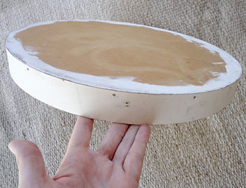 Mandei fazer um suporte em madeira num marceneiro