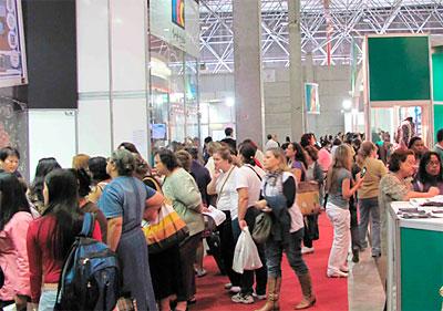 Mega artesanal edição de 2010 e grande número de visitantes