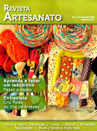Revista Artesanato em versão eletrônica