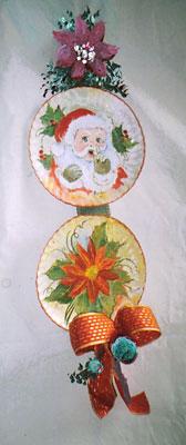 Pratos para enfeitar a parede com temas natalinos