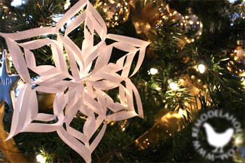 Estrela de Davi, um artesanato em papel que dá um efeito surpreendente