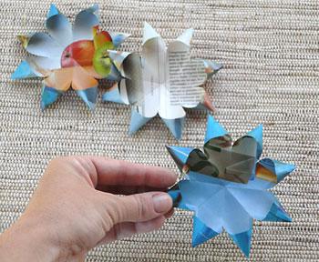 Para fazer uma flor prepare 3 dessas partes