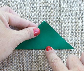 Dobre as diagonais do quadrado