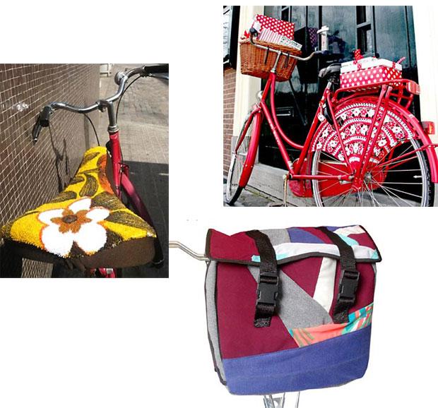 Artesanato pode estar presente também em sua bicicleta