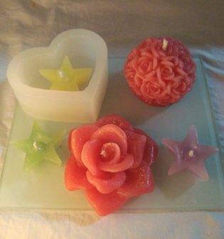 Velas perfumadas e decoradas para presentear