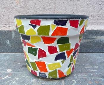 Limpe os azulejos e aplique verniz