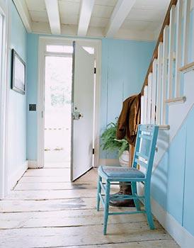 Azul é cor que lembra o mar