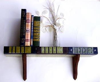 Livros usados podem ser prateleiras