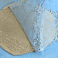 Como fazer cerâmica rendada, passo-a-passo