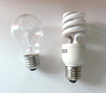 Escolha a lâmpada
