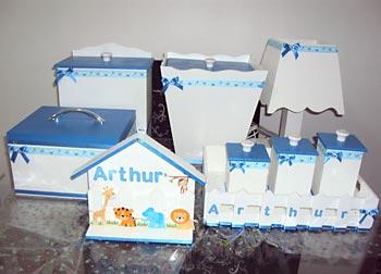 Kit de higiene para menino