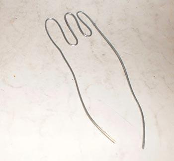 Modele dedos de pés