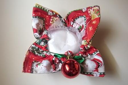 Mimos de Natal, presente com enfeite natalino