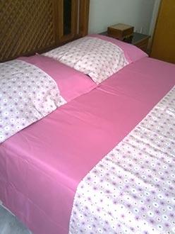 Jogos de cama feitos à mão