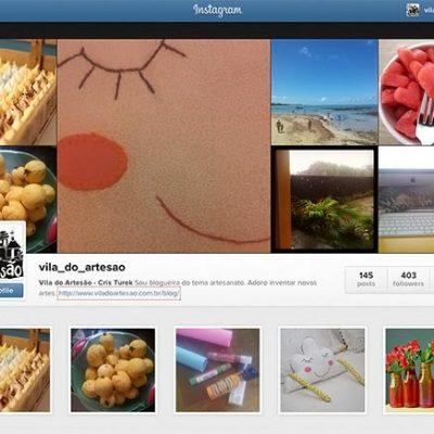 Vila do Artesão no Instagram