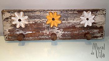 Reutilizando sobras de madeira para cabideiro