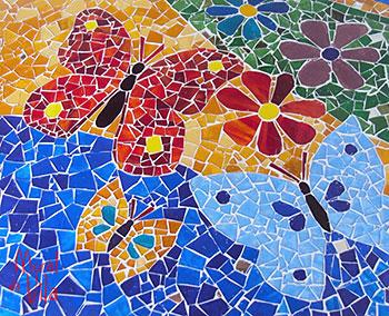 Mosaico de primavera