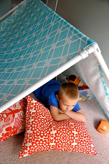 Tenda cabana, dica de brinquedo para a criançada