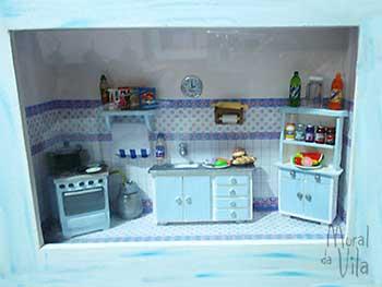 Miniaturas para decorar sua cozinha