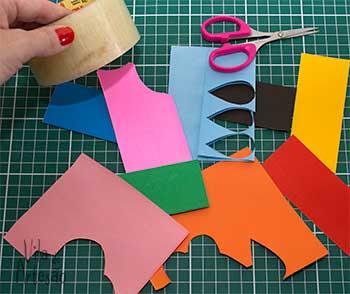 Material para fazer tags