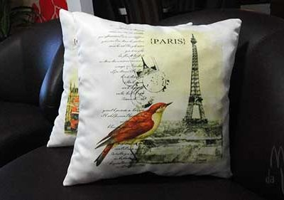 Almofadas artesanais pra decorar com charme