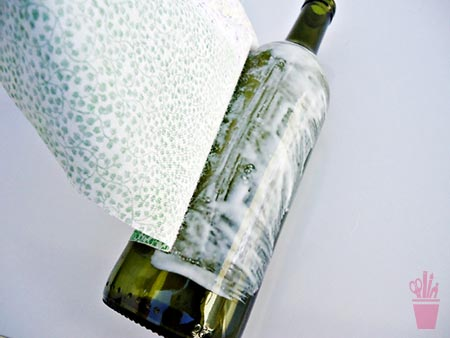 Contorne a garrafa