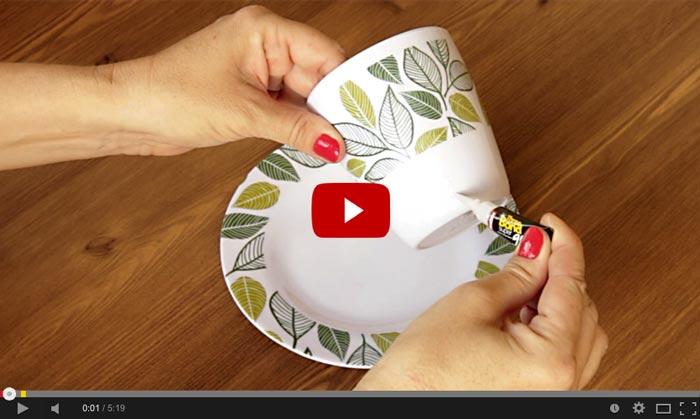 Clique para assistir ao vídeo do comedouro para pássaros na xícara