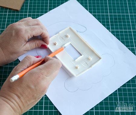 Imprima o molde