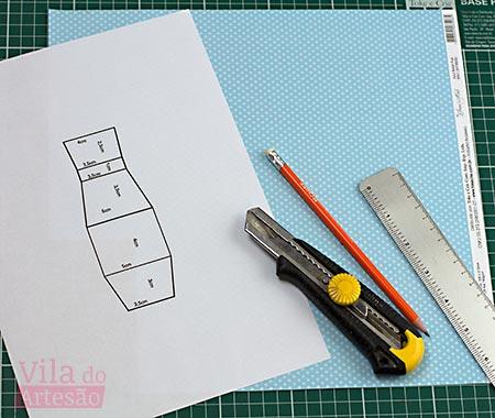 Molde e material para iniciar