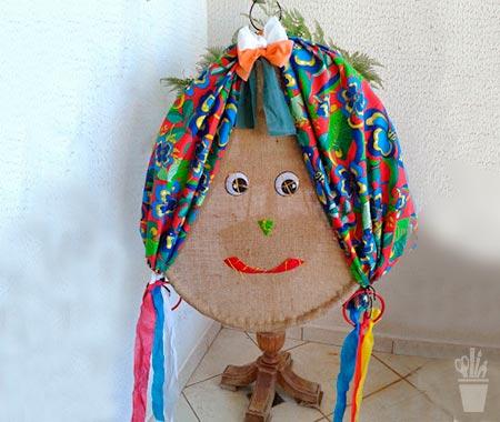 Festa junina tem decoração típica