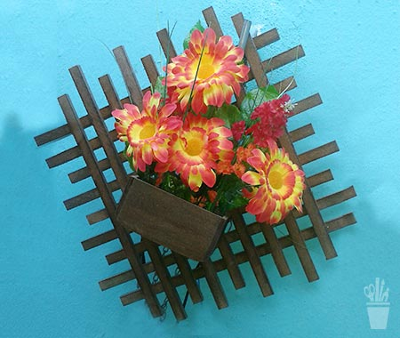 Floreira decorativa