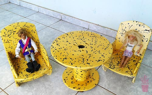Reciclagem de carretel