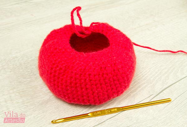 Crochete até aqui