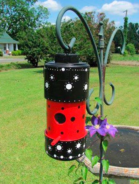 Cano de pvc decorado