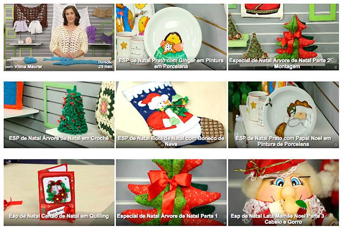 Dezenas de ideias para o Natal com aulas online