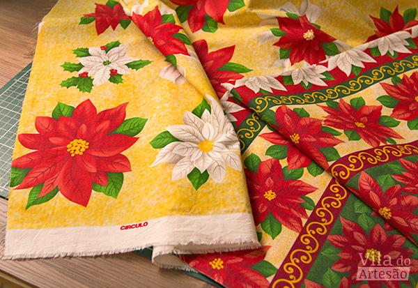 Tecidos de Natal da Círculo