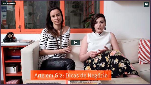 Aula gratuita Arte em Giz