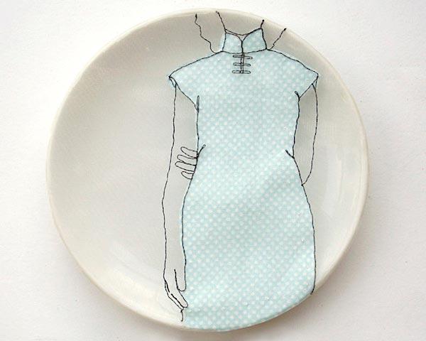 O bordado e o tecido numa interpretação de Diem Chau