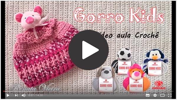 Receita Gorro Kids Ponto Barra
