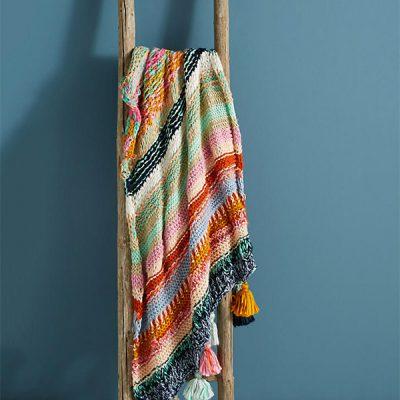 Use a manta para decorar sua casa