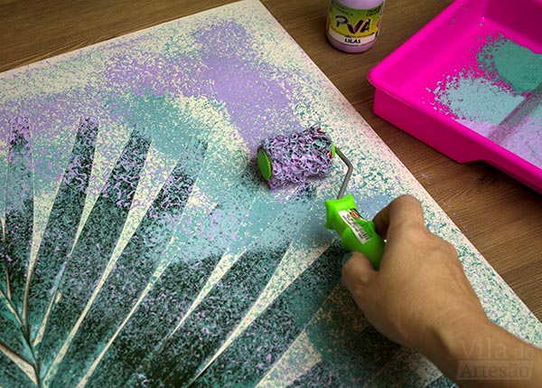 Finalizei a pintura