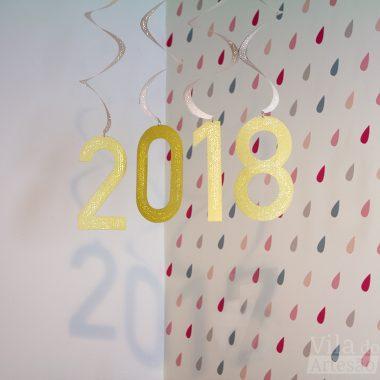 Decoração de ano novo vapt-vupt
