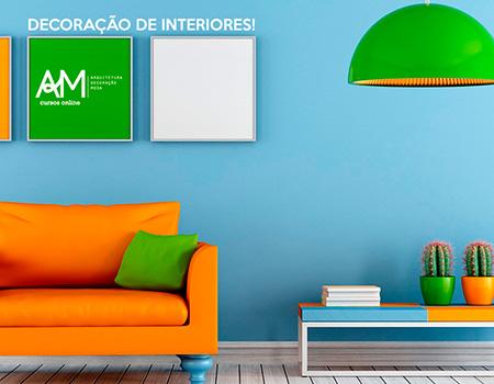 Aprenda decoração de interiores