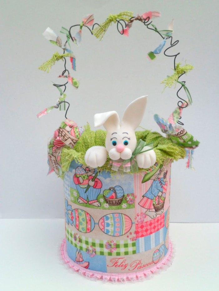 Latas decoradas para a páscoa com ideias encantadoras