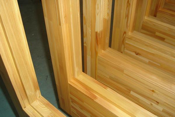 deurhout vilam lariks - Gelamineerd en Gevingerlast hout