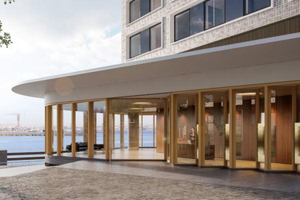 haven hotel lariks vilam - Gelamineerd en Gevingerlast hout