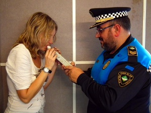 Polica Local Control Alcoholemia radio (3)