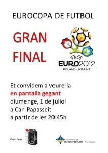 EUROCOPA DE FUTBOL 2012
