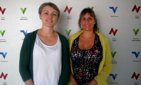 Maria Senserrich i Alba Verges Junts pel SI V02